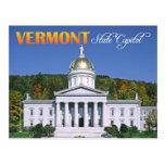 Edificio del capitolio del estado de Vermont, Postal