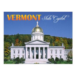 Edificio del capitolio del estado de Vermont, Tarjeta Postal