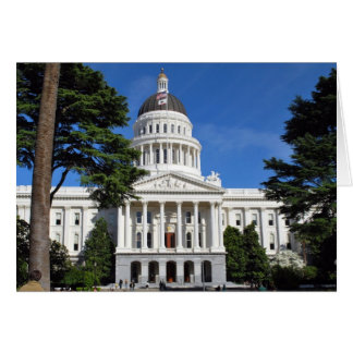 Edificio del capitolio del estado - Sacramento CA Tarjeton