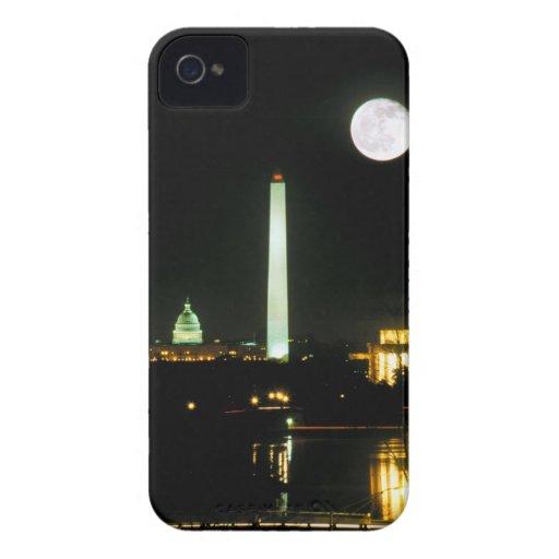 Edificio del capitolio, el Lincoln memorial, Case-Mate iPhone 4 Coberturas