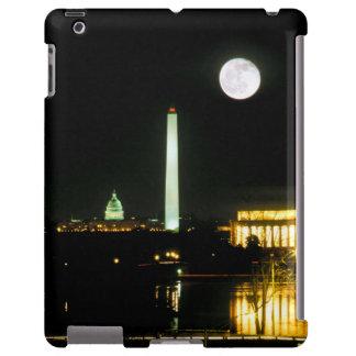 Edificio del capitolio, el Lincoln memorial, Washi Funda Para iPad