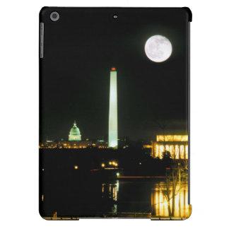 Edificio del capitolio, el Lincoln memorial, Washi Funda Para iPad Air