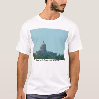 Edificio del capitolio, jefferson city, MES Playera
