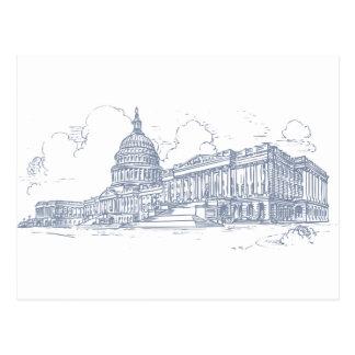 Edificio del capitolio tarjetas postales