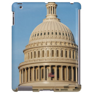 Edificio del capitolio tirado en la oscuridad funda para iPad