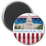 Edificio del capitolio - Washington DC Imanes Para Frigoríficos