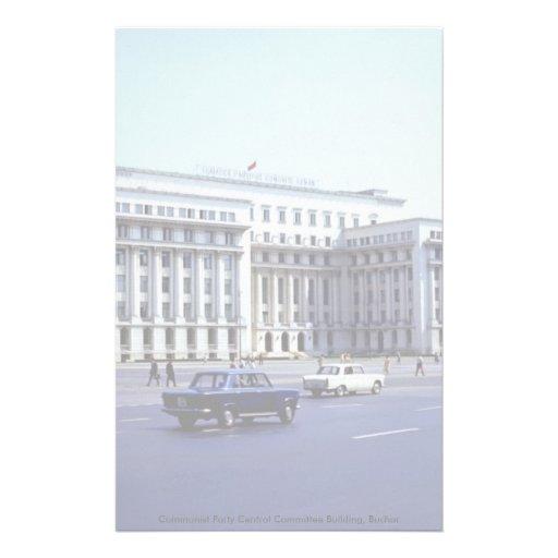Edificio del comité central del Partido Comunista, Papelería
