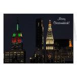 Edificio del estado del imperio de NYC en los Tarjeta De Felicitación
