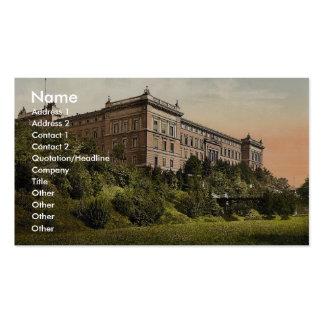 Edificio del gobierno, Cassel (es decir, Kassel),  Tarjeta De Visita
