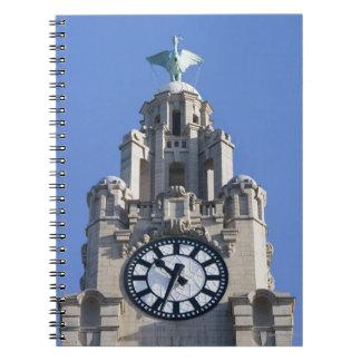 Edificio del hígado, edificio de Cunard, Liverpool Libretas Espirales