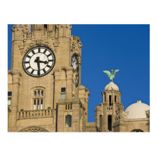 Edificio del hígado, Liverpool, Merseyside, Inglat Postal