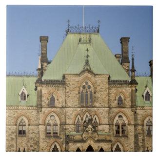 Edificio del parlamento en Ottawa, Ontario, Canadá Azulejos