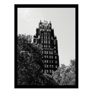 Edificio del parque de NYC Bryant Postales