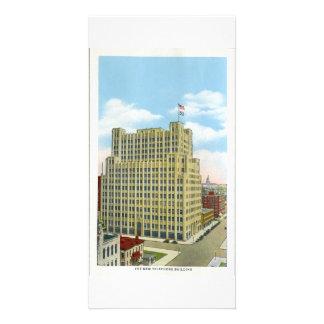 Edificio del teléfono, Denver, Colorado Tarjetas Personales Con Fotos
