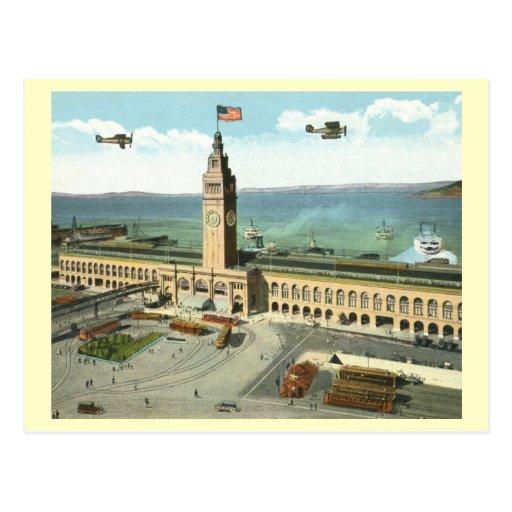 Edificio del transbordador, San Francisco Tarjetas Postales