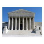 Edificio del Tribunal Supremo de Estados Unidos Tarjeta Postal