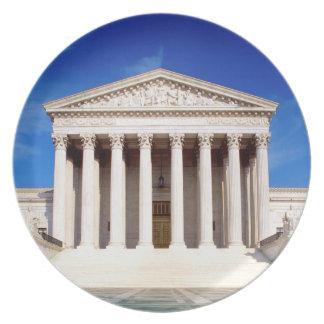 Edificio del Tribunal Supremo de los E.E.U.U., Was Plato Para Fiesta