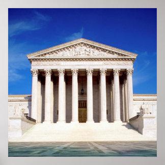 Edificio del Tribunal Supremo de los E.E.U.U., Was Póster