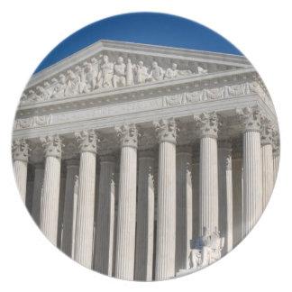 Edificio del Tribunal Supremo de los Estados Plato Para Fiesta