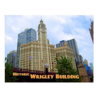 Edificio histórico de Wrigley - Chicago Illinois Postales