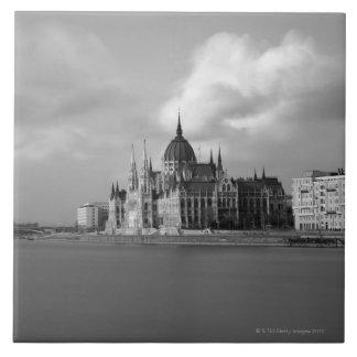 Edificio húngaro del parlamento azulejos