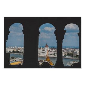 Edificio húngaro del parlamento, Budapest Cojinete