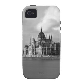 Edificio húngaro del parlamento iPhone 4/4S carcasa