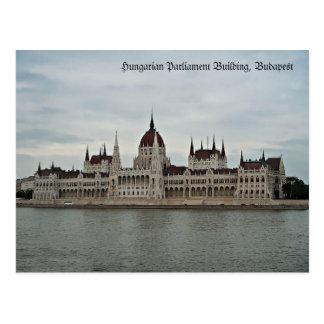 Edificio húngaro del parlamento postal