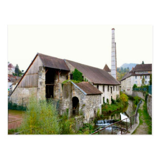 Edificio industrial del bain de los les de Salins Tarjetas Postales