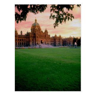 Edificio legislativo, Victoria, Columbia Británica Postal