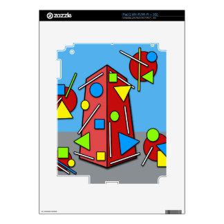 Edificio loco calcomanías para iPad 2