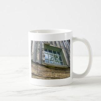 Edificio pionero tazas de café