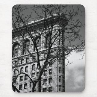 Edificio plano del hierro de NYC Mousepads