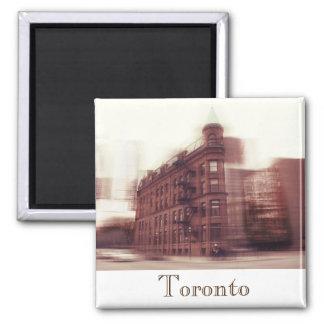 Edificio plano del hierro de Toronto Iman Para Frigorífico