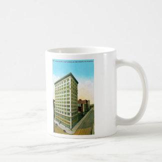 Edificio principal taza de café
