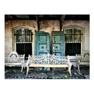 Edificio viejo de la sabana postales