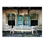 Edificio viejo de la sabana tarjeta postal