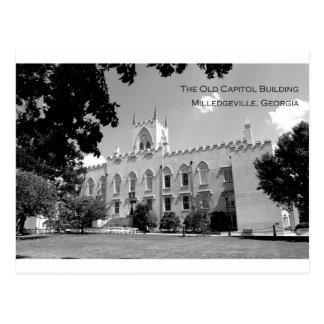 Edificio viejo del capitolio - Milledgeville, Geor Tarjeta Postal