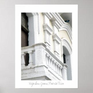 Edificio Viejo San Juan, Puerto Rico Print