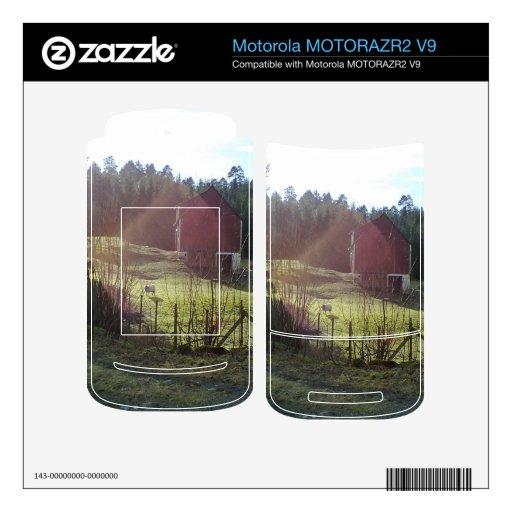 Edificio y ovejas MOTORAZR2 v9 skins
