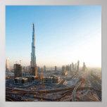 Edificios a lo largo de jeque Zayed Road, Dubai 2 Impresiones