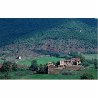 Edificios agrícolas, Lentiourel, Francia en Europa Fotoescultura Vertical