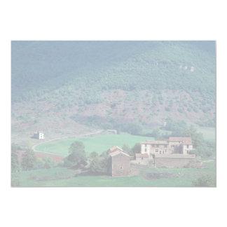 """Edificios agrícolas, Lentiourel, Francia en Europa Invitación 5"""" X 7"""""""