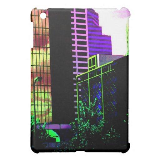 Edificios coloreados gráfico