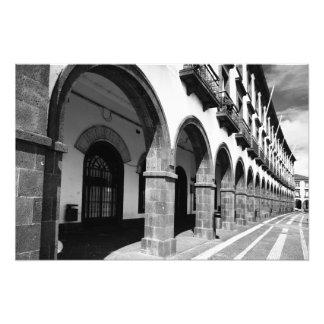 Edificios con los arcos impresiones fotograficas