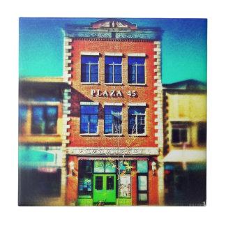 Edificios de antaño, arquitectura 01 azulejo cuadrado pequeño