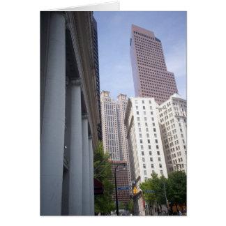 Edificios de Atlanta Tarjeta De Felicitación