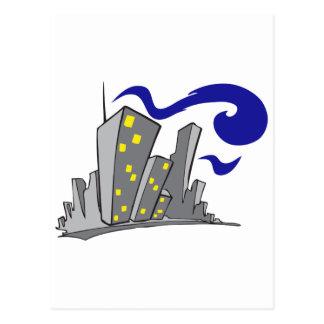 Edificios de la ciudad postal