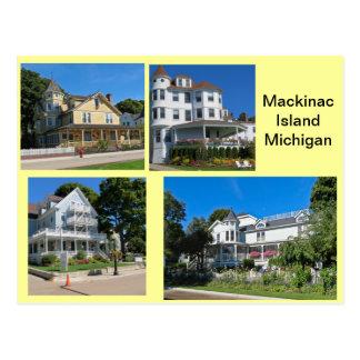 Edificios de la isla de Mackinac Postales