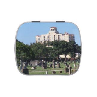 Edificios de los árboles n de West Palm Beach la Jarrones De Caramelos